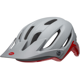 Bell 4Forty Helmet cliffhanger matte/gloss dark gray/crimson